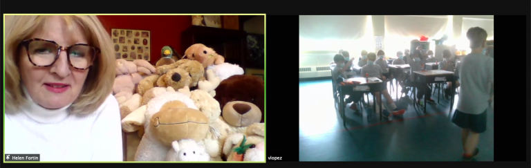 Live Zoom reading with Helen Fortin from minibiblioPLUS